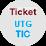 Ticket UTG TIC, (obriu en una finestra nova)