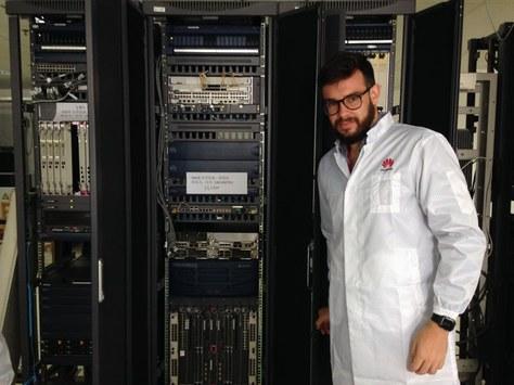 Pràctiques sobre xarxes 3G i 4G als laboratoris de Huawei
