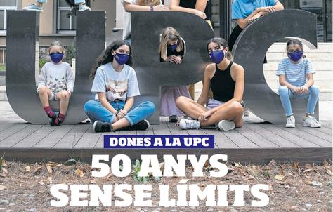 """Entrevista a Àngela Niubó, estudianta de l'ETSETB al suplement del Diari Ara """"Dones a la UPC : 50 anys sense límits"""""""