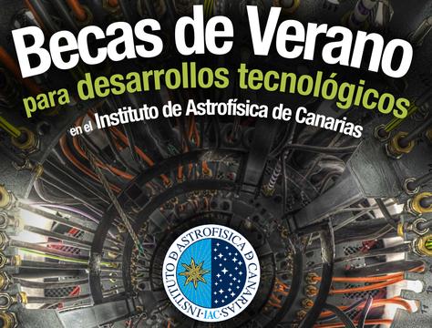 Becas de Desarrollo Tecnológico del Instituto de Astrofísica de Canarias