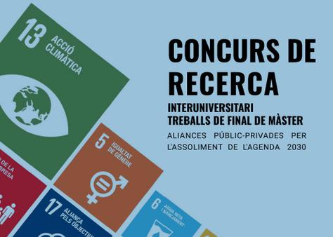 Concurs de Recerca Interuniversitari de Treballs de Fi de Màster (25 de novembre)