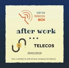 Vine a retrobar-te amb els teus antics companys de Telecos - Divendres 25 de gener  19h