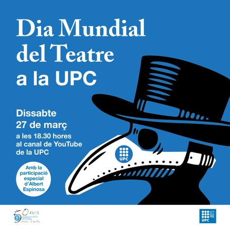 Dia Mundial del Teatre a la UPC - 27 de març