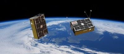 Dos nanosatèl·lits del NanoSat Lab en òrbita