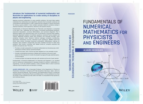 "El professor Álvaro Meseguer publica el llibre ""Fundamentals of Numerical Mathematics for Physicists and Engineers"""