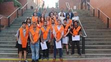 Enhorabona als estudiants del Màster en Fotònica
