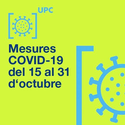 ETSETB Mesures COVID-19, 15-31 Octubre 2020