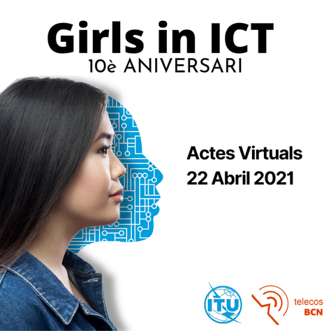 Celebrem a l'ETSETB el 'Girls in ICT Day 2021' - 22 d'abril