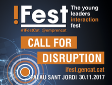 iFest: The young leaders interaction fest - 30 de novembre al Palau Sant Jordi - Inscriu-te!!