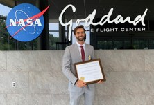 Jordi Vila, alumni de l'ETSETB, distinguit amb la Early Career Public Achievement Medal que dona la NASA
