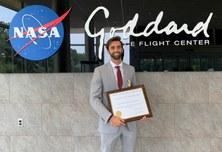 Jordi Vila, alumni de l'ETSETB, distinguit amb la Early Career Public Achievement Medal que dona la NASA