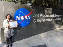 """L'exalumna de l'Escola Nereida Rodriguez Álvarez rep el prestigiós premi de la NASA: """"Early Career Public Achievement Medal"""""""