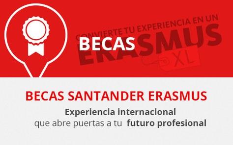 Mobilitat: Convocatòria de les Beques Santander Erasmus per al curs 2021/2022