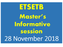 ETSETB Master's studies - Informative session