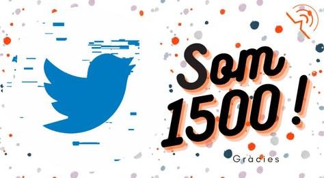 Som 1500 a Twitter!