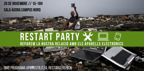 Vine a la Restart Party UPC!