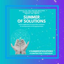 Vols dissenyar i construir solucions tecnològiques per donar solucions a reptes d'àmbit climatològic? Participa en el #SummerofSolutions