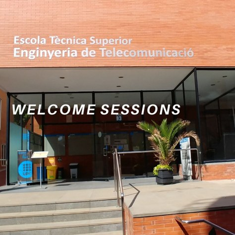 Welcome sessions to master' new student