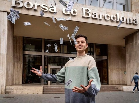 """Interview at """"El Pais"""" with David Riudor, ETSETB Alumni and placed in the Forbes list of the 30 under 30 most influential in the financial sector"""