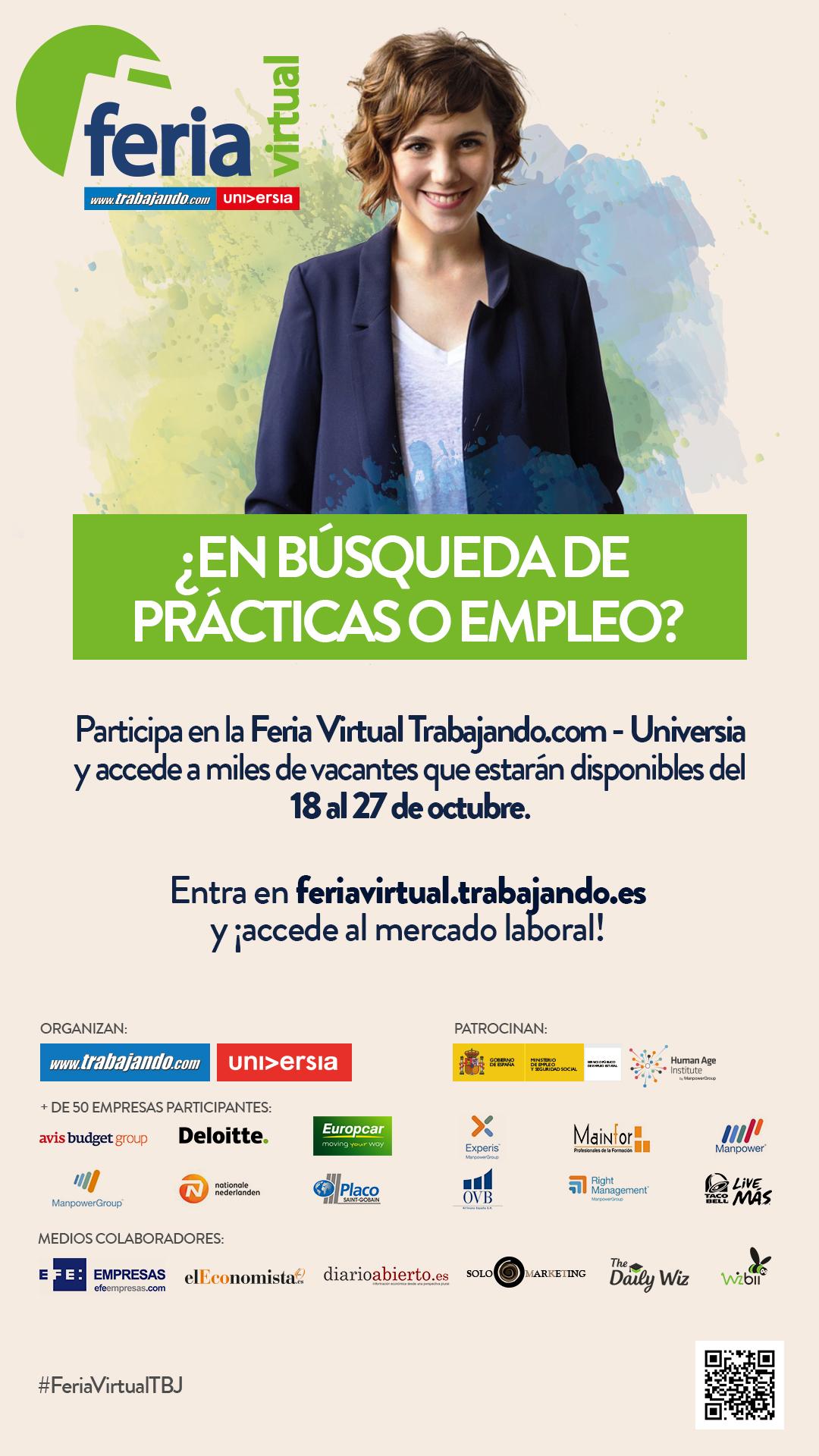 VI Edición de la Feria Virtual Trabajando.es-Universia